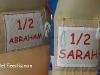 Abraham / Sarah Feestend half