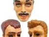 Masker jonge man plastic