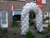 Ballonnenboog in Burgum