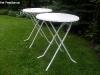 Sta tafel wit rond 85 cm